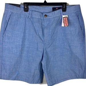 NWT Vineyard Vines Breaker Shorts Blue Mens 40
